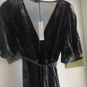 NWT Gypsy high low maxi dress